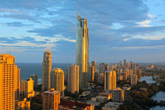Surfer's Paradise in Australia Royalty Free Stock Images