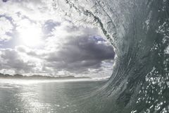 Surfer`s View Perspective Stock Image