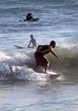 Surfer in Sardinia Stock Photo