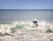 Surfer, Southern California Royalty Free Stock Image