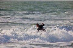 Surfer sur le 2ème championnat Impoxibol, 2011 Photo stock