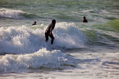 Surfer sur le 2ème championnat Impoxibol, 2011 Photo libre de droits