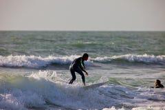Surfer sur le 2ème championnat Impoxibol, 2011 Images libres de droits