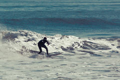 Surfer sur Sunny Day Image stock