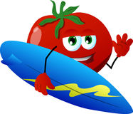 Surfer tomato Stock Photography