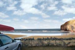 Surferparadies Stockfoto