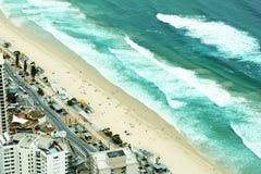 surfers παραδείσου παραλιών στοκ εικόνα με δικαίωμα ελεύθερης χρήσης