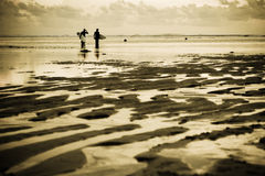 surfers παραλιών στοκ φωτογραφίες