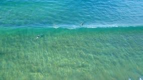 Surfers στο lineup 02 στοκ εικόνες με δικαίωμα ελεύθερης χρήσης