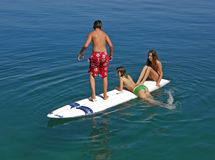 Surfers Royalty Free Stock Images