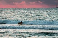 Surfers photo stock