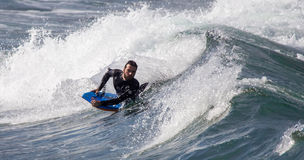 Surfers in action Royalty Free Stock Image