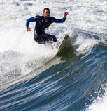 Surfers in action Stock Image