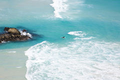 Surfers At Noordhoek Beach Stock Photography