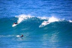 Surfers bij Bondi-Strand Royalty-vrije Stock Foto