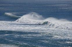 Big waves along the Queensland coast, Stock Photo
