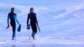 Surfers de corps (film) Images stock
