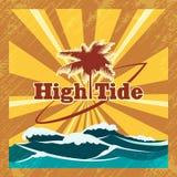 Surfers Emblem Royalty Free Stock Photo