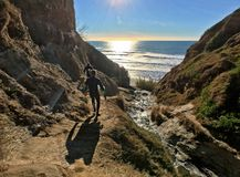 Surfers on Ho Chi Minh Trail Stock Photography