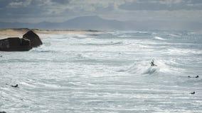 Surfers @ lapiste Royalty Free Stock Photo