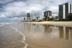Surfers Paradise royalty free stock photography