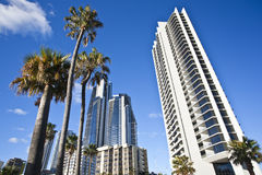 Surfers Paradise. Buildings at Surfers Paradise Queensland Australia Stock Photography
