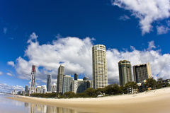 Surfers Paradise Royalty Free Stock Photo