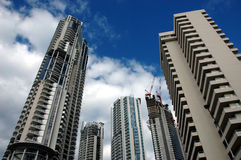 Surfers Paradise Apartments Stock Images