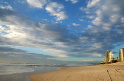 Surfers Paradise Beach royalty free stock images