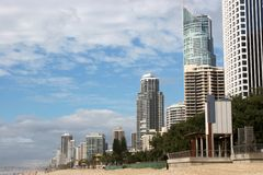 Surfers Paradise Beach Stock Image