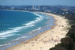 Surfers Paradise Beach Gold Coast Royalty Free Stock Image