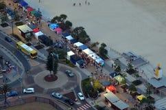 Surfers Paradise Beachfront Markets - Australia Stock Photos