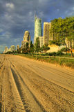 Surfers Paradise Foreshore Royalty Free Stock Photos
