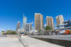 Surfers Paradise at Gold Coast, Queensland Royalty Free Stock Photos