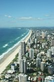 Surfers Paradise Shoreline Stock Photos