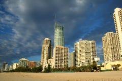 Surfers Paradise Skyline royalty free stock photography