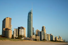 Surfers Paradise Skyline Stock Photo