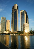 Surfers Paradise Skyline Royalty Free Stock Photography