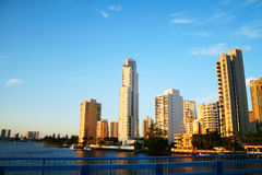Surfers Paradise Skyline Gold Coast Australia Stock Photography