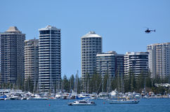 Surfers Paradise Skyline - Gold Coast Queensland Australia Royalty Free Stock Images
