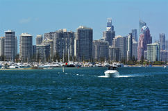 Surfers Paradise Skyline - Gold Coast Queensland Australia Stock Photos
