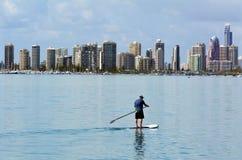 Surfers Paradise Skyline - Gold Coast Queensland Australia Royalty Free Stock Images