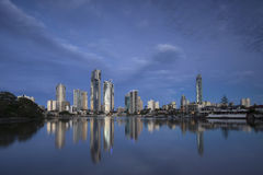 Surfers Paradise Skyline, Gold Coast Stock Image