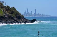 Surfers Paradise Skyline -Queensland Australia Royalty Free Stock Photo