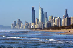Surfers Paradise Skyline -Queensland Australia Royalty Free Stock Photos