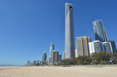 Surfers Paradise Skyline -Queensland Australia stock images