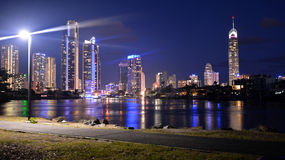 Surfers Paradise Skyline -Queensland Australia Royalty Free Stock Images