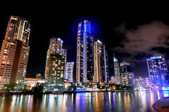 Surfers Paradise Skyline -Queensland Australia Royalty Free Stock Photography