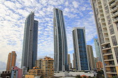 Skyscrapers of Surfers Paradise Stock Images