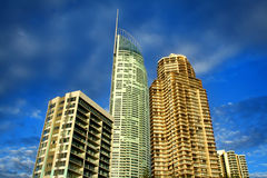 Surfers Paradise Towers Royalty Free Stock Photography